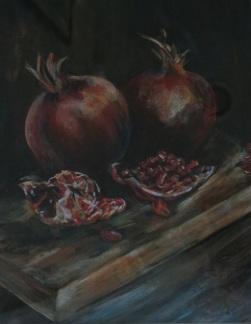 SOLD Pomegranates