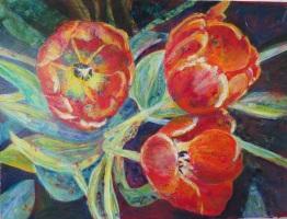 SOLD Debbi's Tulips