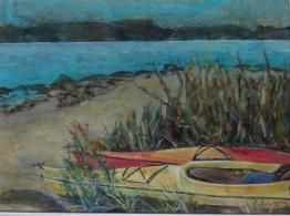 Kayaks in Repose