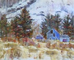 SOLD A Winter's Barn II