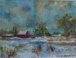 SOLD Winter Blues