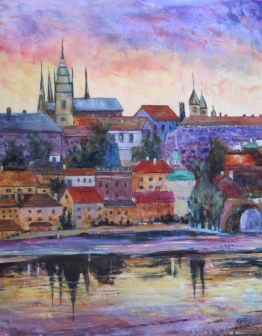 SOLD Sunrise Over Prague