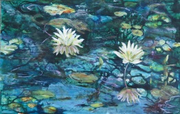 SOLD Water Lilies