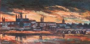Setting Sun-Prague